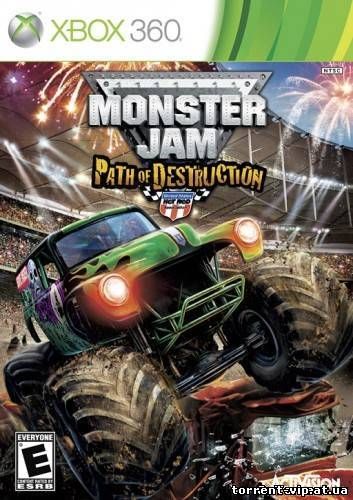 Monster Jam Path Destruction (2010/Xbox360/Eng)