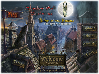 Shadow Wolf Mysteries: Bane of the Family Collector's Edition (2011/PC/Eng)