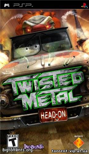 Twisted Metal: Head-On (2005/PSP/Eng/CSO)