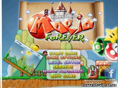 Super Mario Bros 3: Mario Forever (2012/PC/Eng)