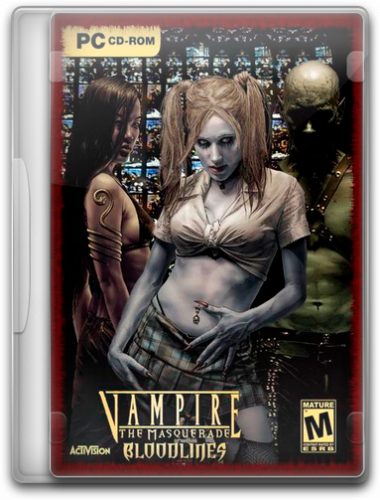 Vampire The Masquerade Bloodlines v.7.9 (2004/PC/RePack/Rus) by Naitro