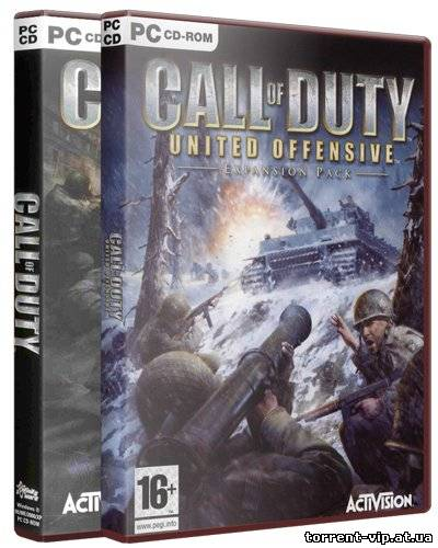 Call of Duty + United Offensive (2004/PC/RePack/Rus) by Canek77