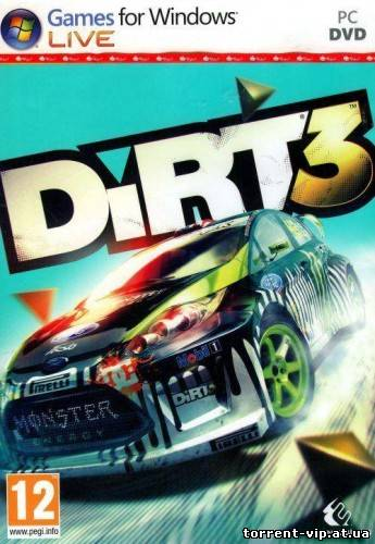 DiRT 3 v.1.2 + DLC (2011/PC/RePack/Rus) by R.G. Element Arts