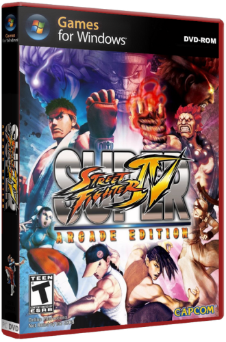Super Street Fighter 4: Arcade Edition (2011/PC/Rus/RePack)