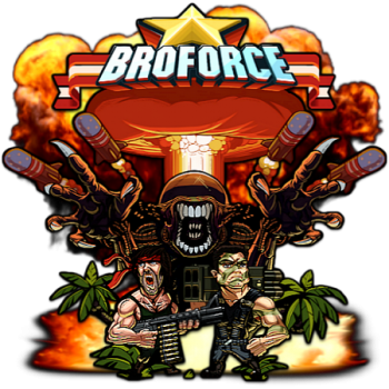 Broforce: The Expendables Missions (2014) PC | Alpha