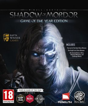 Middle-Earth: Shadow of Mordor - Game of the Year Edition [Update 8] (2014) PC | RePack от FitGirl