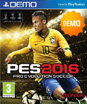 PES 2016 / Pro Evolution Soccer 2016 (2015) PS3 | Demo