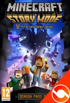 Minecraft: Story Mode - A Telltale Games Series. Episode 1-2 (2015) PC | RePack от R.G. Liberty