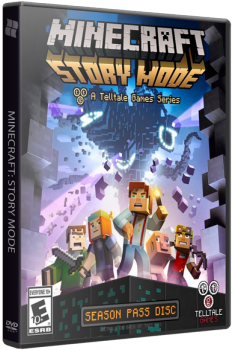 Minecraft: Story Mode - A Telltale Games Series. Episode 1-5 (2015) PC | RePack от R.G. Catalyst