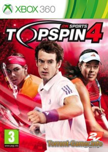 Top Spin 4 [Region Free/ENG] Xbox 360